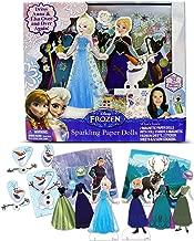 Disney Frozen Anna and Elsa Sparkling Paper Dolls