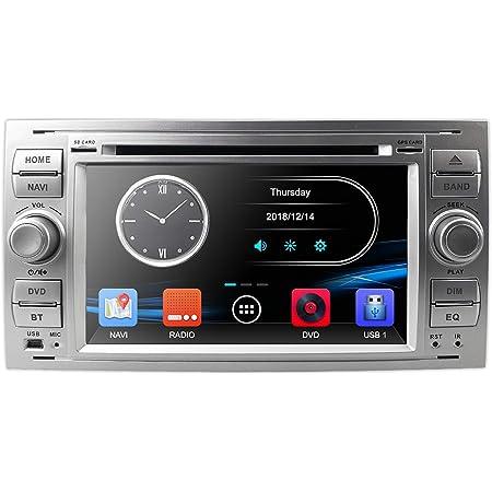 Hizpo Silver 7 Inch 2 Din Car Radio Moniceiver Dvd Gps Elektronik