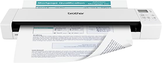 Brother Wireless Mobile Color Page Scanner, DS-920W, Wi-Fi Transfer, Fast Scanning..