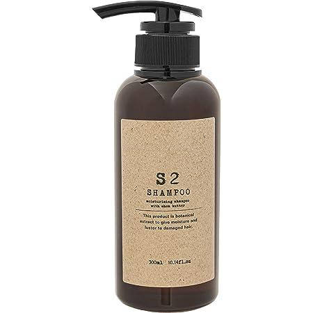 エスツーシャンプー シアバター配合の高保湿アミノ酸シャンプー (バニラムスクの香り) 300ml