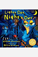 Lights Out, Night's Out: A Glow in the Dark Book (Glow-in-the-dark Editions) Paperback