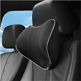 Almohada Automóviles Transpirable For Asiento Coche Oficina Silla Coche Almohada Coche Memoria 3D Cojín De Espuma Accesorios Interior Asiento Coche Almohadas Almohada de Coche (Color : Black)