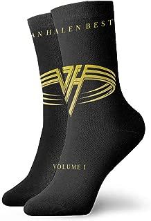 FengYuqi Van Halen Unisex Socks Personality Classic Odor Resistant Fashion Crew Socks