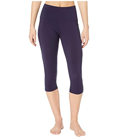 Lorna Jane Move Core Phone Pocket 3/4 Leggings (French Navy) Women