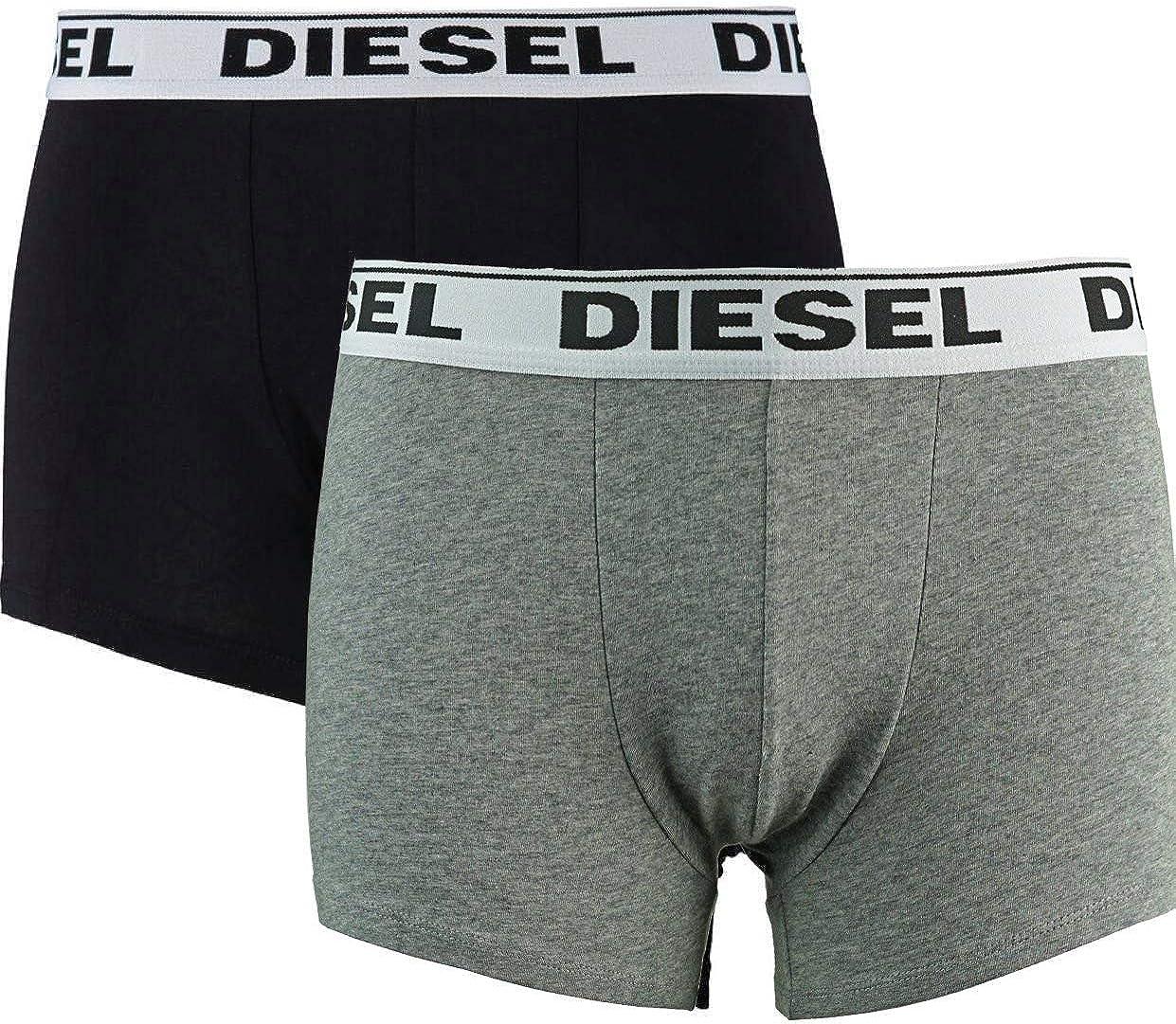 Diesel Men's Boxer Trunk 2 Pack Underwear