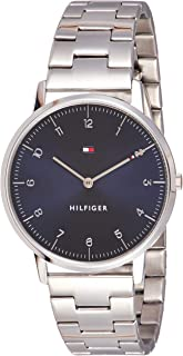 Tommy Hilfiger Men'S Navy Dial Stainless Steel Watch - 1791581