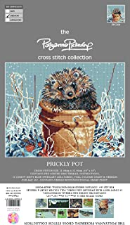 Pollyanna Pickering Prickly Pot Counted Cross Stitch Kit-9.75