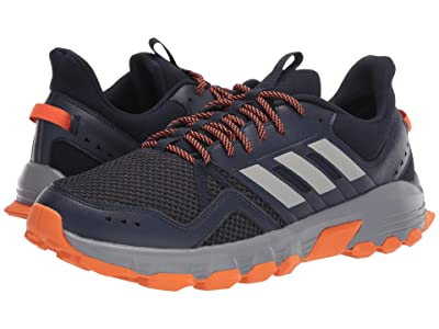 adidas Running Rockadia Trail (Legend Ink/Grey Two/Orange) Men