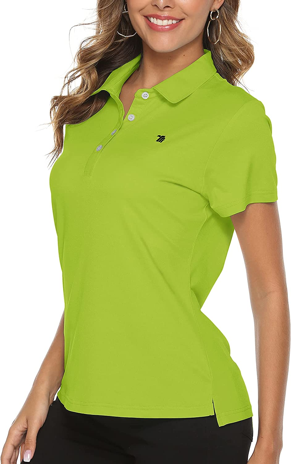 store YSENTO Women El Paso Mall Golf Shirts Dry Fit Moisture Sleeve Short P Wicking