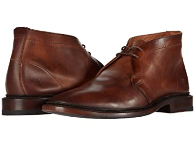 Frye Paul Chukka (Cognac Antique Pull Up Leather) Men