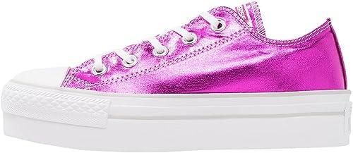 Converse Platform Chaussures de de Sport Femme Fuxia  design simple et généreux
