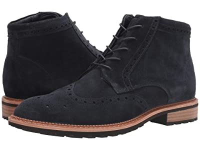 ECCO Vitrus I Wingtip Boot (Navy) Men