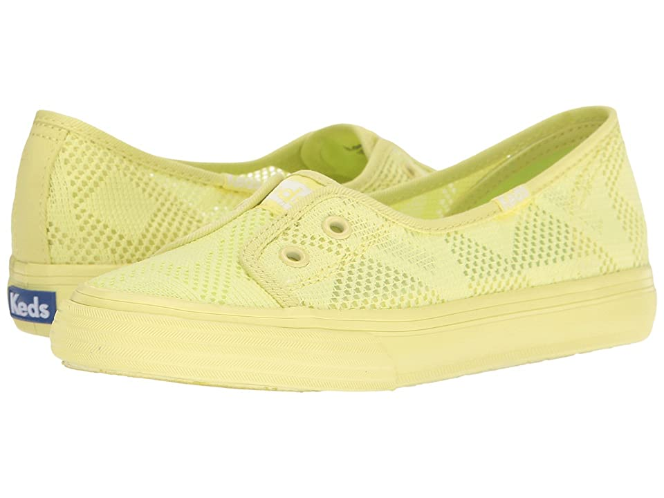 Keds Kids Double Up Shortie (Little Kid/Big Kid) (Citron) Girl