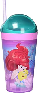 Zak Designs PRYC-S112 Airel and Sleeping Beauty Disney Princess Snack Cup, 10 oz, Clear