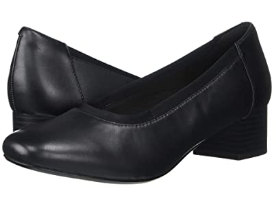 Clarks Chartli Fame (Black Leather) Women