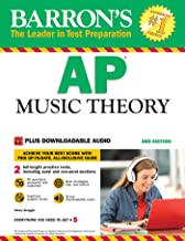 AP Music Theory: with Downloadable Audio Files (Barron's Ap Music Theory)