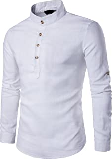 buy online 93b33 0c39c Suchergebnis auf Amazon.de für: hemden stehkragen: Bekleidung
