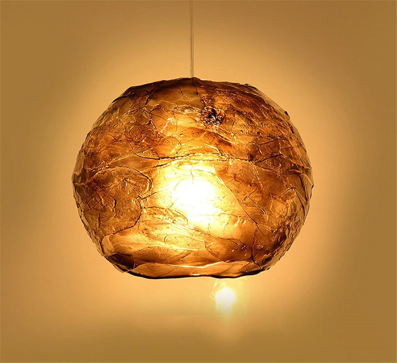 Stazsx Hnge Pendelleuchten Grau Kronleuchter Kronleuchter Persnlichkeit Kronleuchter Cafeteria Lampe einzigen Kopf Kronleuchter, 31cmX24cm