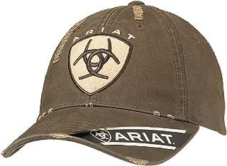 Men's Brown Distressed Hat