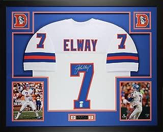 Best autographed john elway jersey Reviews
