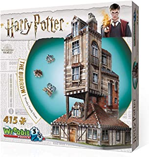 Wrebbit 3D – Harry Potter The Burrow Weasley Family Home 3D Jigsaw Puzzle –..