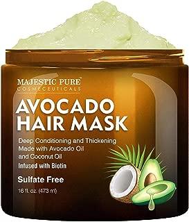 Best coconut oil avocado oil hair mask Reviews