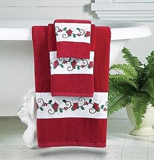 Best christmas bath towels Reviews