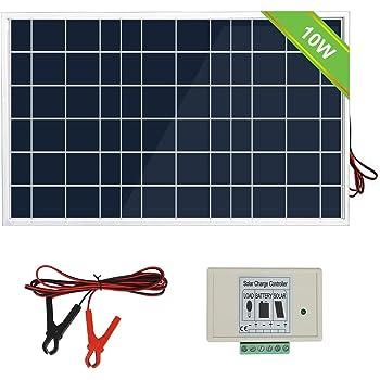 ECO WORTHY 10W Solar Panel 10 Watt 12 Volt Pv Solar Module