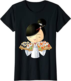 Womens Sushi Girl T-Shirt