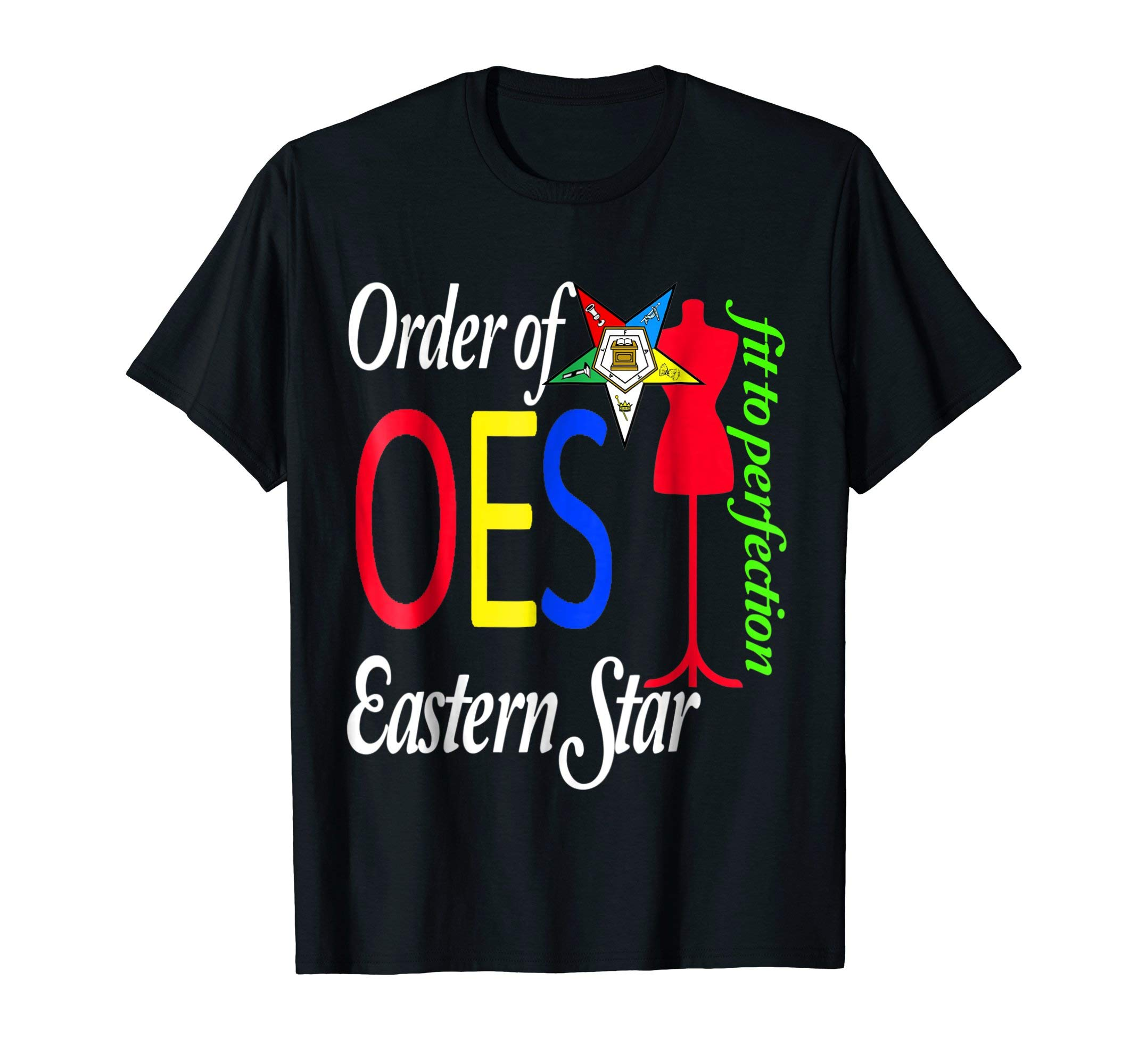 OES Style T-Shirt Order Of The Eastern Star Freemason