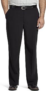 Van Heusen Men's Big and Tall Flex Straight Fit Flat Front Pant