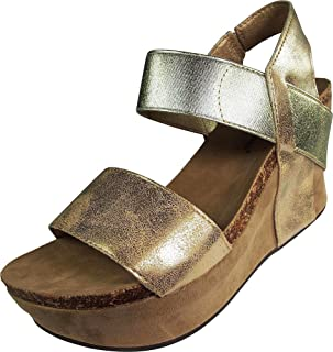 Pierre Dumas Women's Hester-1 Wedge Sandals