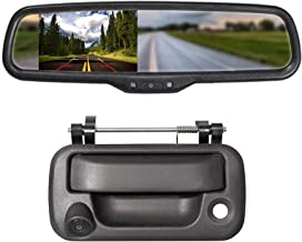 $133 » EWAY Tailgate Handle Backup Reverse Camera with 4.3 inch Rear View Mirror Monitor Kit for Ford F150 2004-2016/Heavy Duty F...