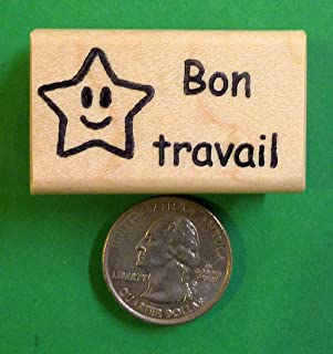OutletBestSelling Bon Travail - French Teacher's Rubber Stamp