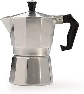 Primula Aluminum Maker Bold, Full Body Espresso – Easy to Use – Makes 1 Cup