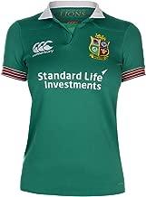 Official Brand Canterbury British & Irish Lions Training Shirt Junior Boys Rugby Green Top