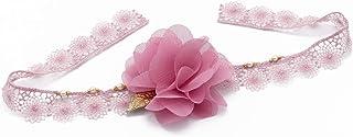 Bracciale matrimonio perle pizzo Giappone oro rosa Fiore doni cerimonia di nozze matrimonio accessorio sposa ospiti damige...