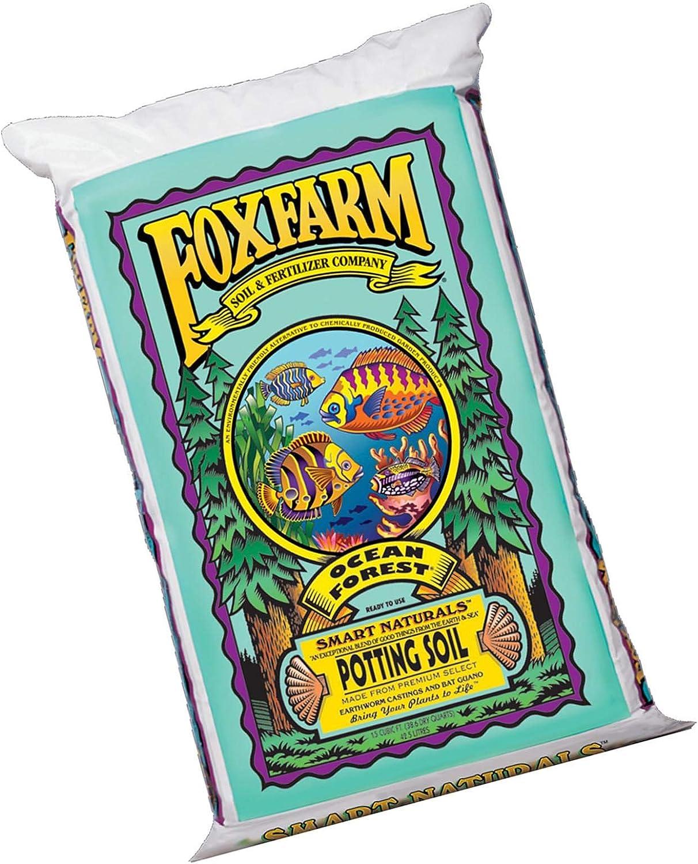 Limited Edition FoxFarm Ocean Forest FX14000-1.5 Cubic Foot Organic Potting Soil