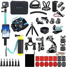 Artman Action Camera Accessories Kit 61-in-1 for Gopro Hero