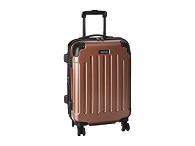 Kenneth Cole Reaction Renegade 20 Expandable 8-Wheel Upright Carry On (Rose Gold) Luggage