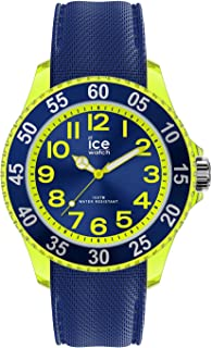 Ice-Watch - ICE cartoon Spaceship - Montre bleue pour garçon avec bracelet en silicone - 017734 (Small)