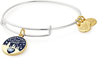 Womens Harry Potter Hogwarts is My Home Bangle Two-Tone