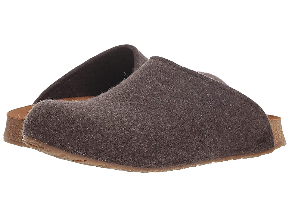 Haflinger Bio Gio Felt (Brown) Clog Shoes