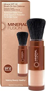 Mineral Fusion Brush-On Sun Defense, SPF 30, UVA and UVB Protection, 0.14 oz (Packaging May Vary)