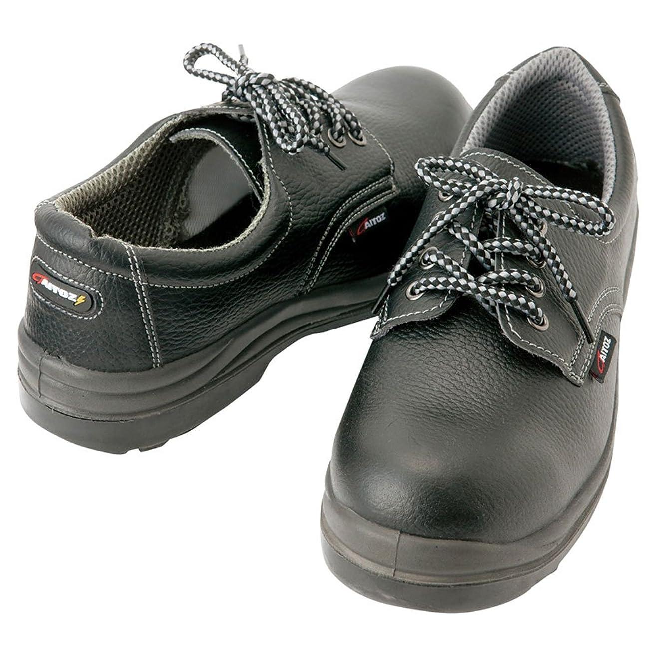 ソーセージマージ両方AZ-59801 《先芯はJIS Sクラスの約3倍の強度、耐油、静電機能、スリップサイン付、JSAA合格品(A種)》 セーフティシューズ(ウレタン短靴ヒモ)