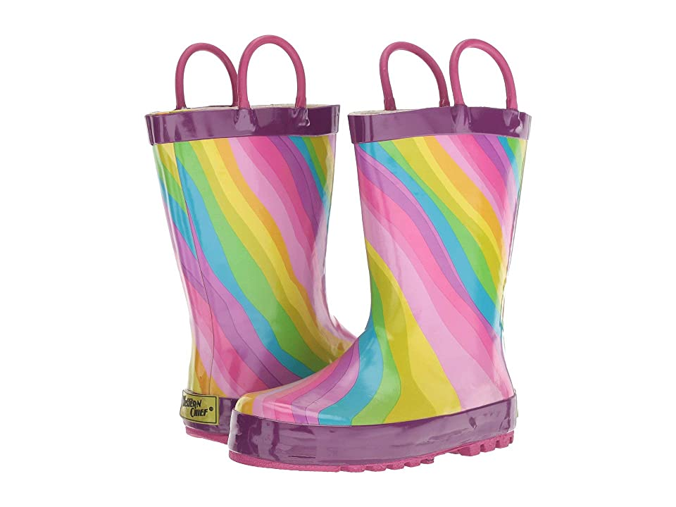 Western Chief Kids Rainbow (Toddler/Little Kid) (Multi) Girls Shoes