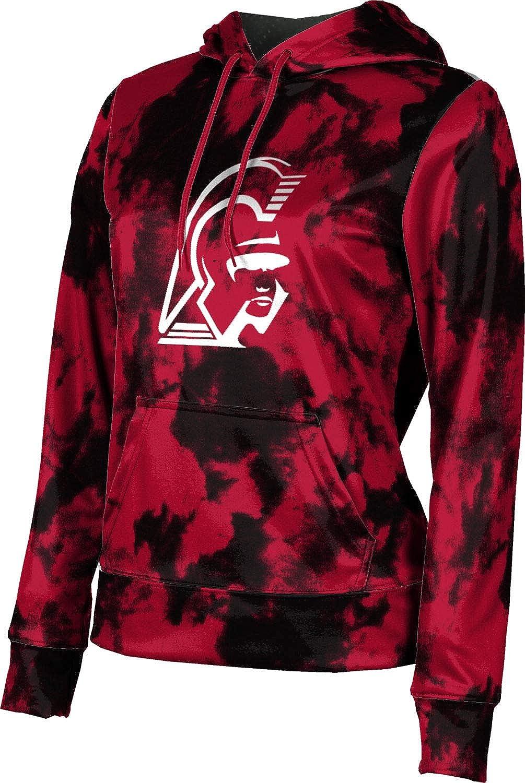 ProSphere Center Grove High School Girls' Pullover Hoodie, School Spirit Sweatshirt (Grunge)