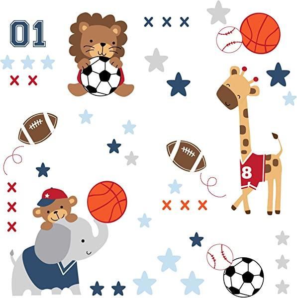 Sporty Sweet Playful Future All Star Wall Decals