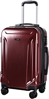 b8f9b6995783 Amazon.com | CarryOne PC+ABS Expandable carry on Luggage Spinner ...
