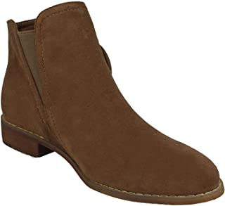 Spot On Womens/Ladies Buckle Strap Ankle Boots
